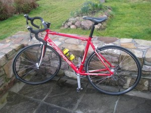 This is my new Lapierre 300 road bike